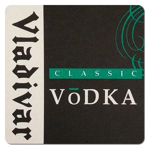 Vladivar Vodka Coaster