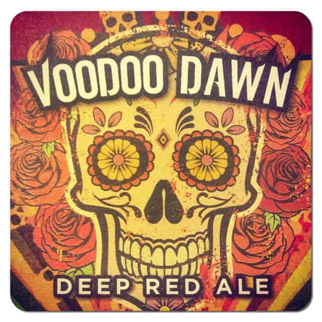 Voodoo Dawn Beer Mat