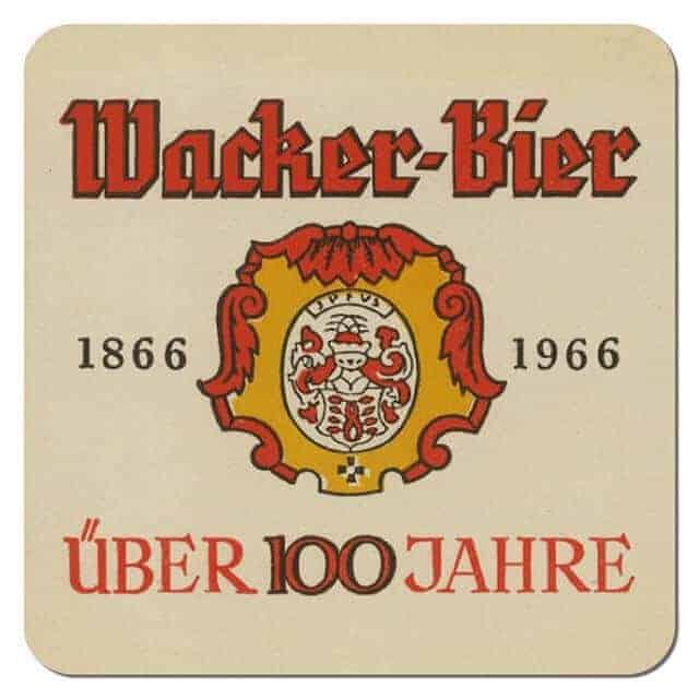 Wacker Bier Coaster