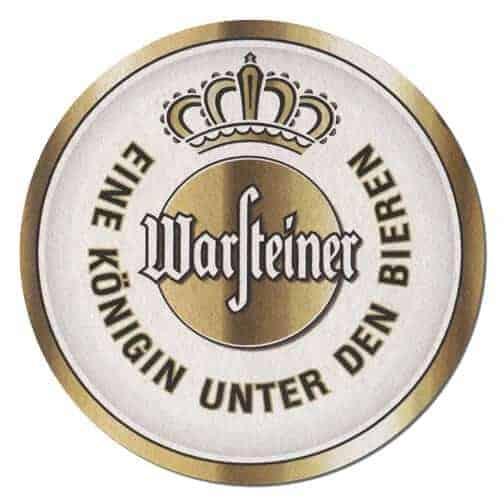Warsteiner Beer Mat