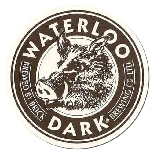 Waterloo Dark Beer Mat