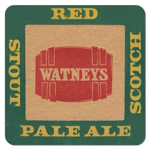 Watneys Beer Mat