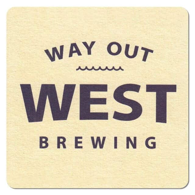 Way Out West Brewing Beer Mat