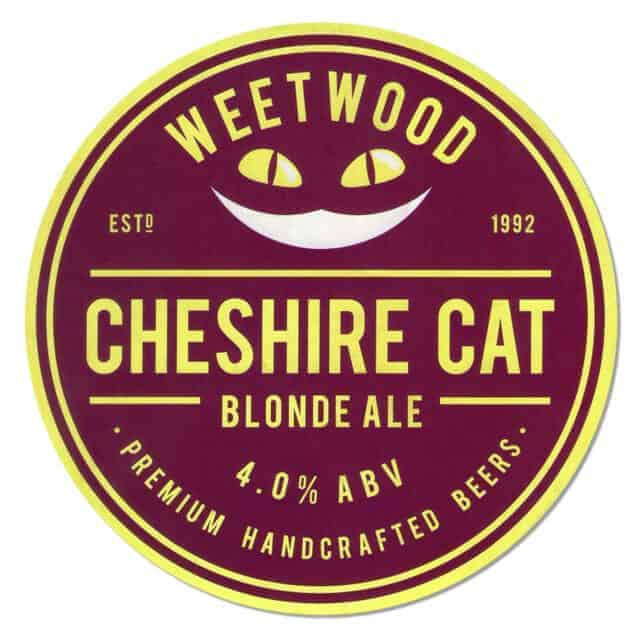 Weetwood Cheshire Cat Blonde Ale Drip Mat