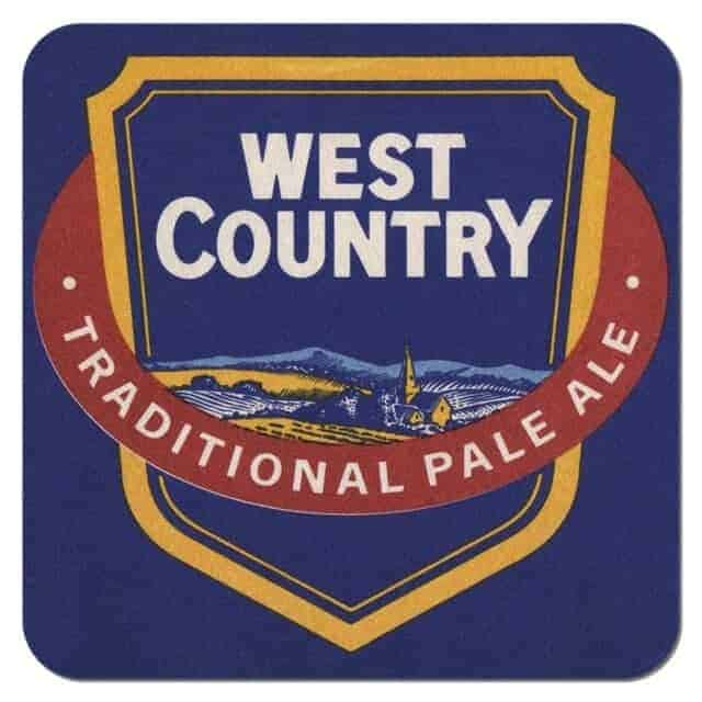 West Country Traditional Pale Ale Drip Mat