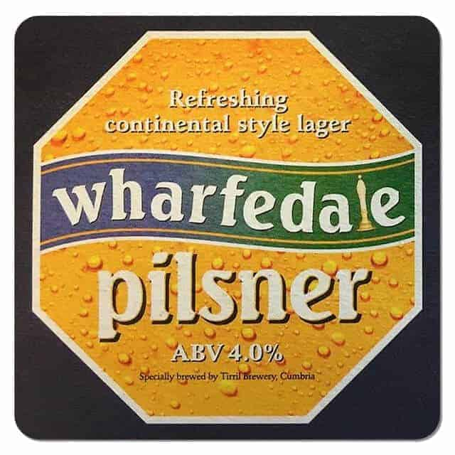 Wharfdale Pilsner Coaster
