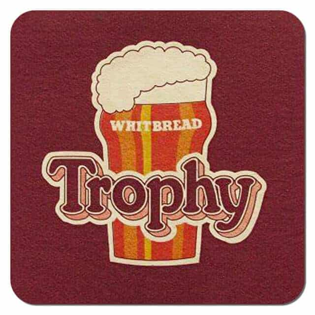 Whitbread Trophy Bitter Drip Mat