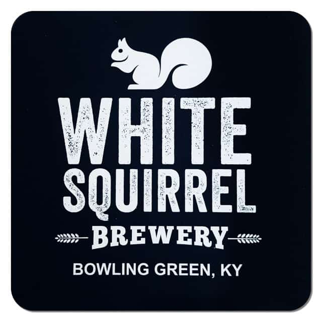 White Squirrel Brewery Beer Mat