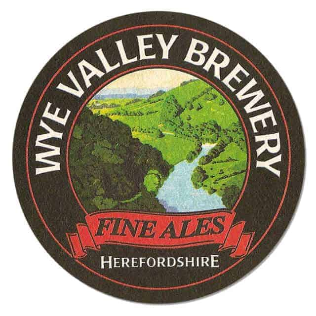 Wye Valley Brewery Beer Mat