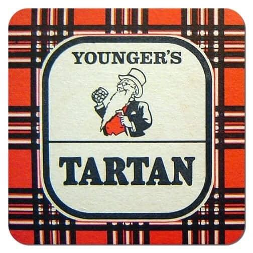 Youngers Tartan Coaster