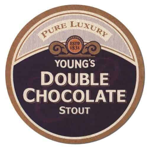 Youngs Double Chocolate Stout Beer Mat