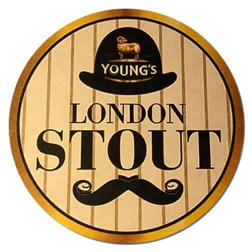 Youngs London Stout Beer Mat