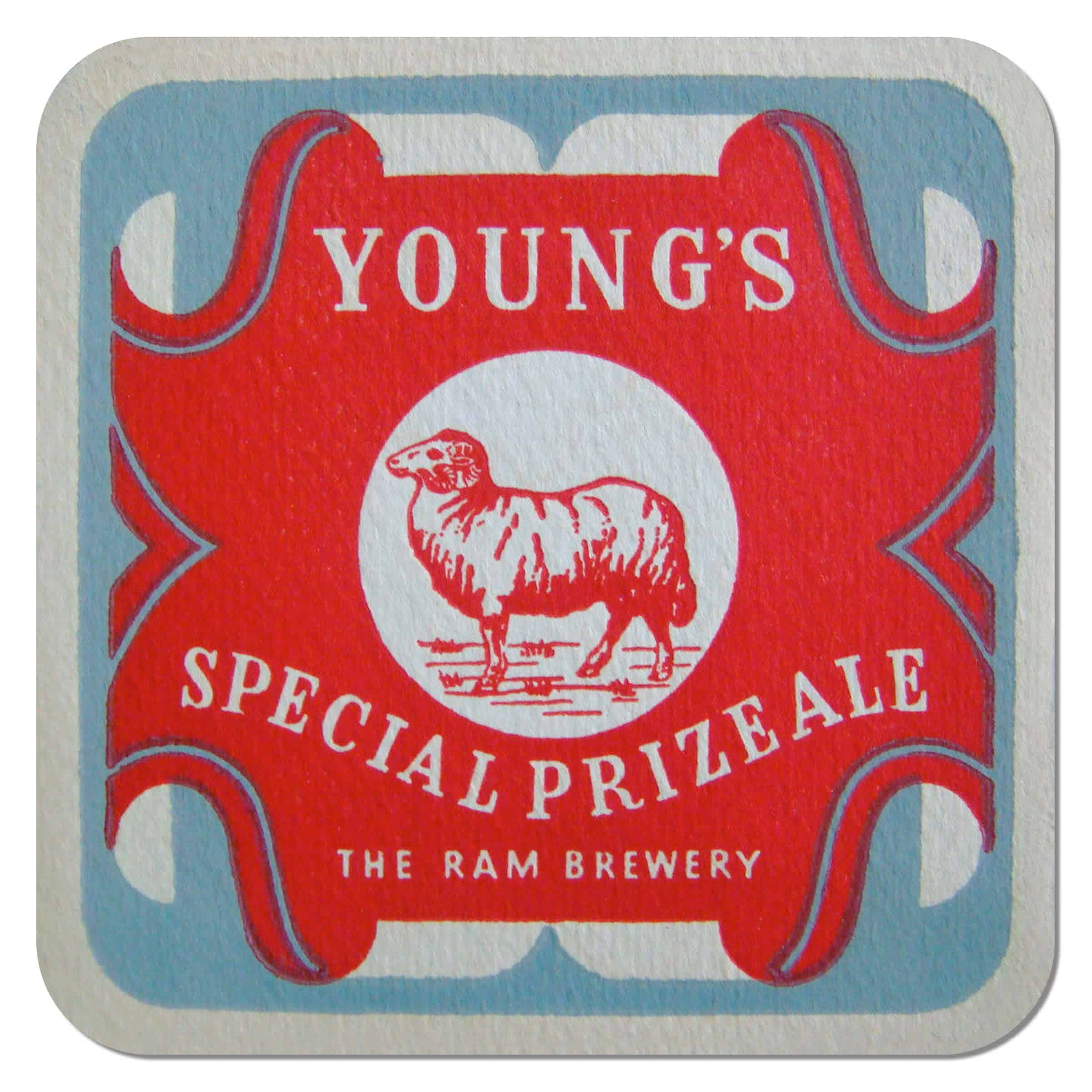 Young's Special Prize Ale Coaster