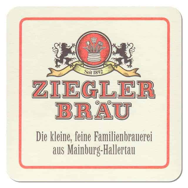 Ziegler Bräu Drip Mat