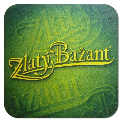 Zlaty Bazant Coaster
