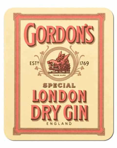 Gordons Dry Gin Coaster