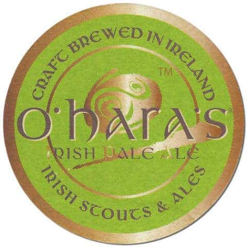 O'Haras Pale Ale Beer Mat Front