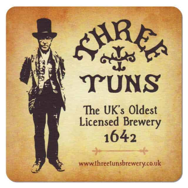 Three Tuns Brewery Coaster