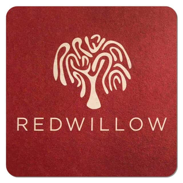 Red Willow Brewery Coaster