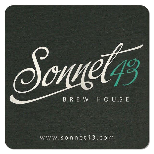 Sonnet 43 Brewhouse Drip Mat