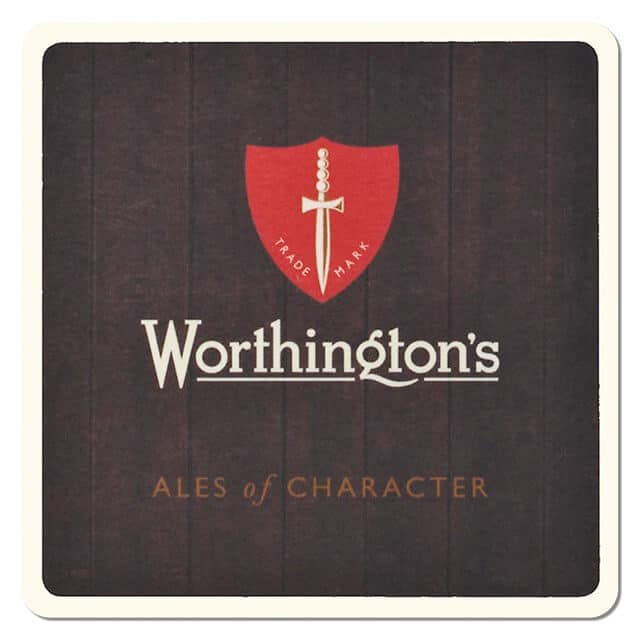 Worthingtons Brewery Drip Mat