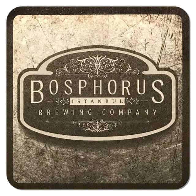 Bosphorus Brewing Company Beer Mat