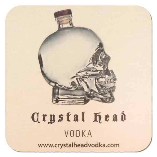 Crystal Head Vodka Coaster