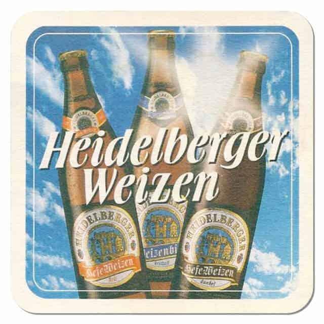 Heidelberger Weizen Coaster