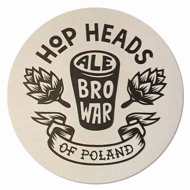Hop Heads Ale Coaster