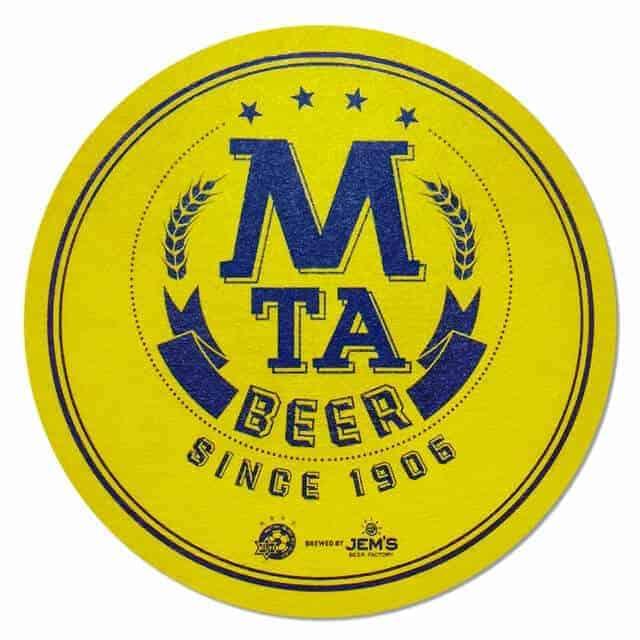 Jem's Beer Factory Beer Mat