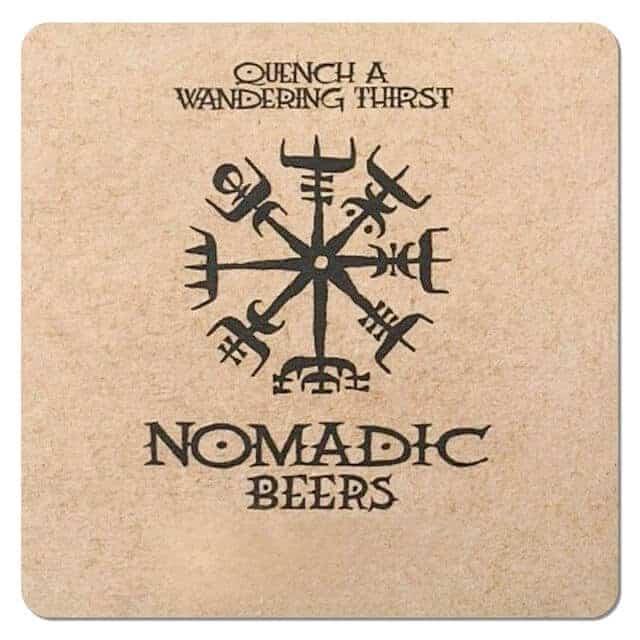 Nomadic Beers Drip Mat