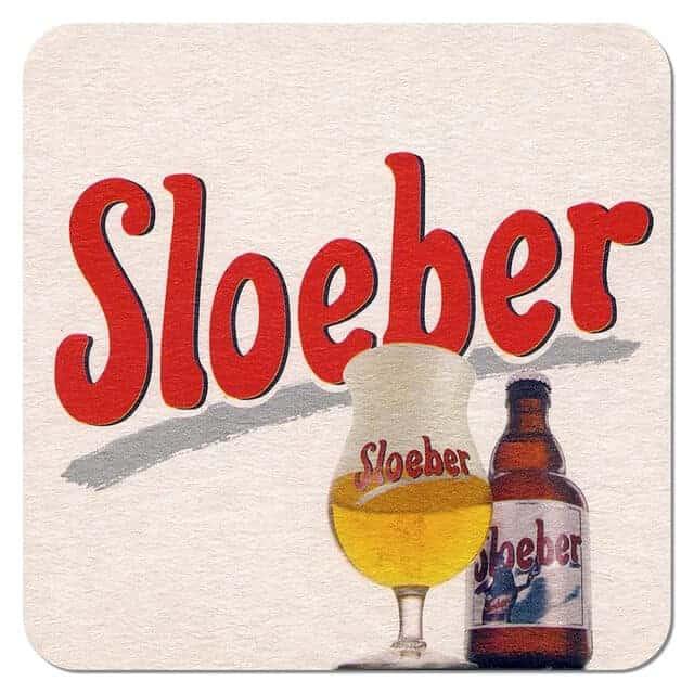 Sloeber Beer Mat