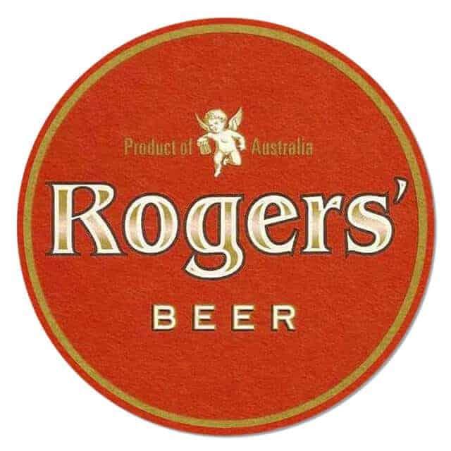 Rogers Beer Coaster
