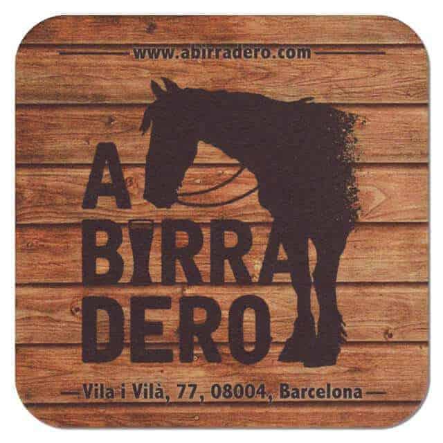 A Birra Dero Coaster