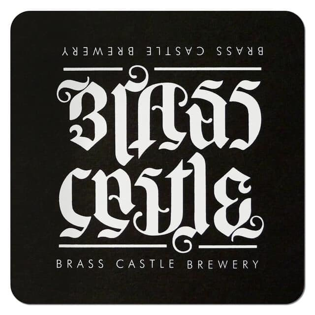 Brass Castle Brewery Coaster