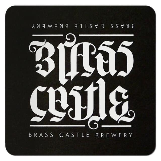 Brass Castle Brewery Coaster