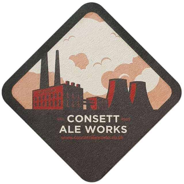 Consett Ale Works Coaster