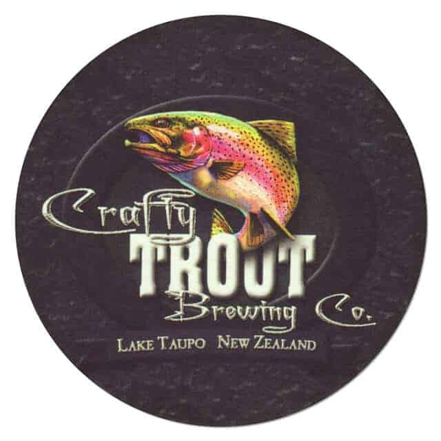 Crafty Trout Brewing Coaster