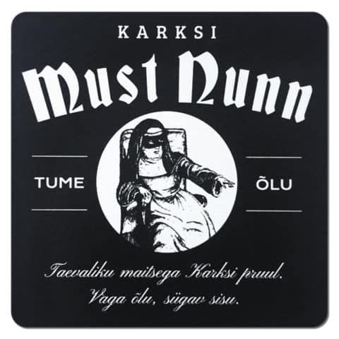 Karski Must Nunn Beer Mat