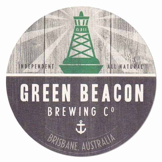 Green Beacon Brewing Coaster