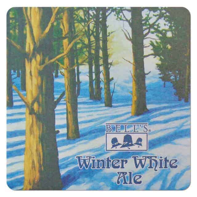 Bells Winter White Ale Coaster