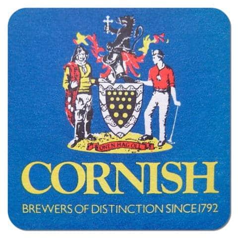 Cornish Brewers Beer Mat