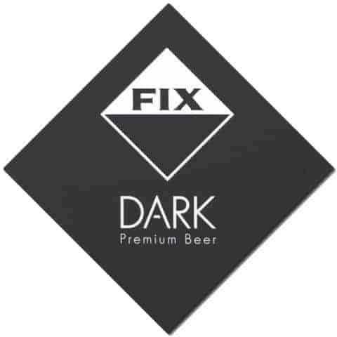Fix Dark Beer Mat