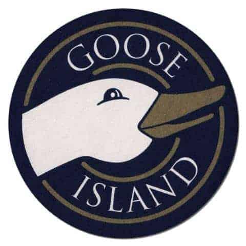 Goose Island Beer Mat