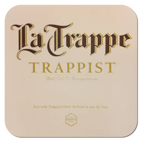 La Trappe - Trappist Beer Mat
