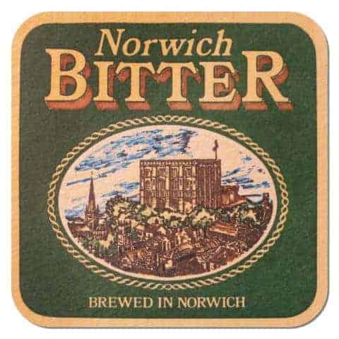 Norwich Bitter Beer Mat