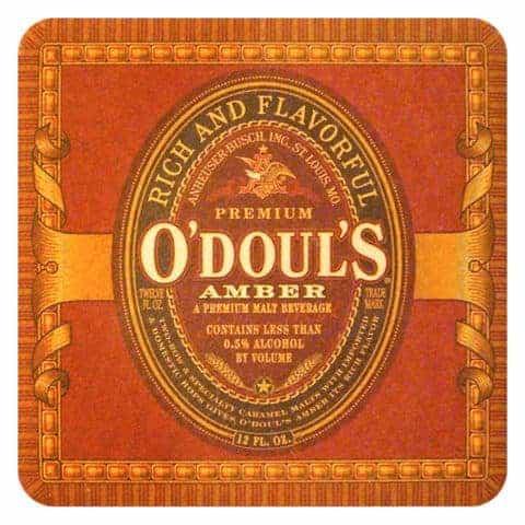 O'Douls Amber Beer Mat