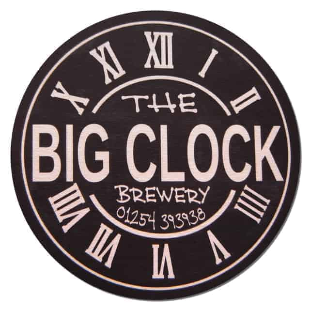 The Big Clock Brewery Beer Mat