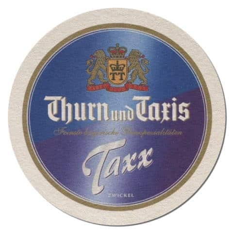 Thurn und Taxis Beer Mat