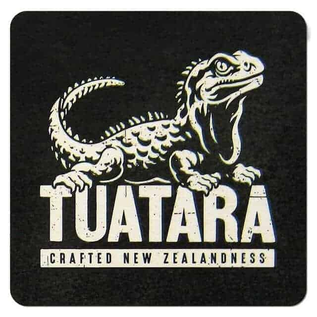 Tuatara Brewing Coaster